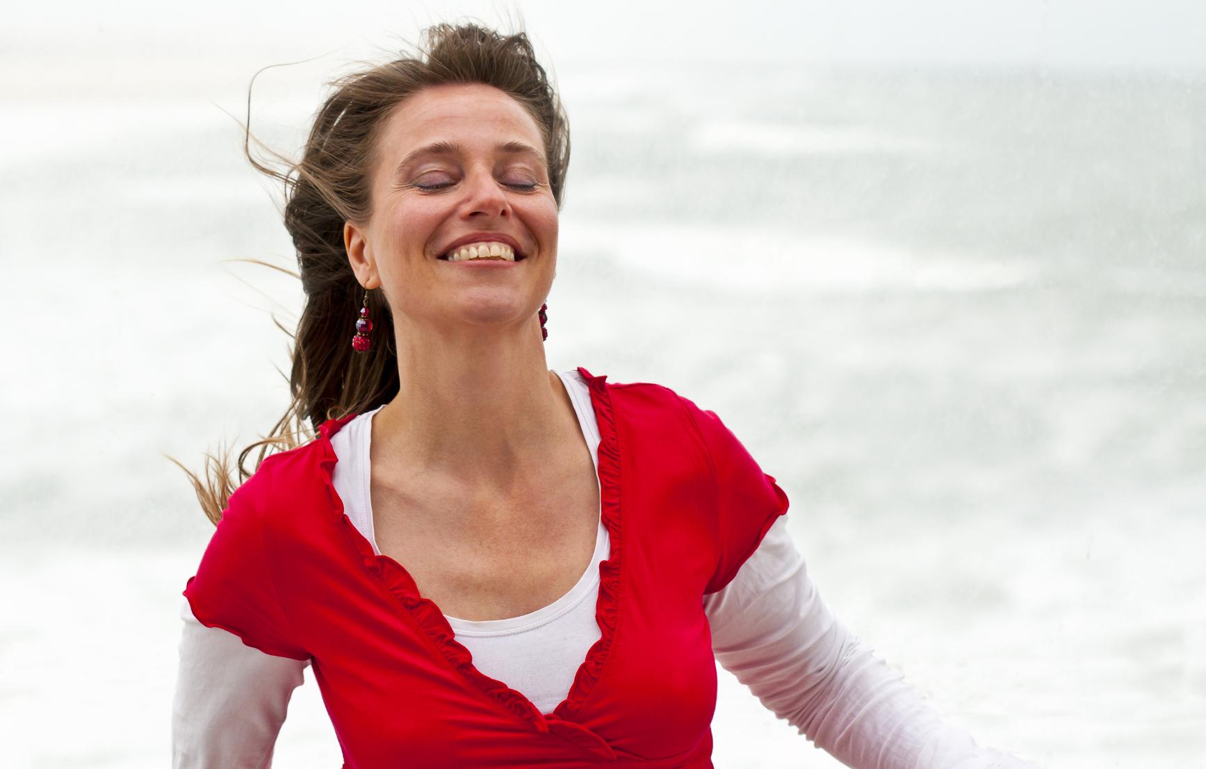 woman with bipolar disorder